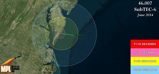 SubTec-6 – UPDATE: Saturday, June 28 Launch scrubbed