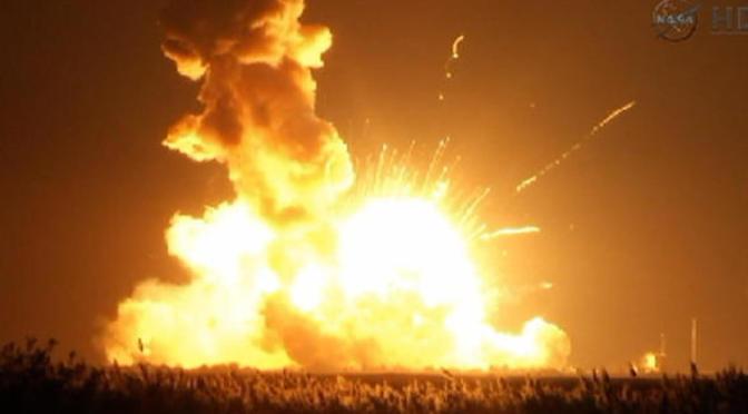 ORB-3 Catastrophic Failure 10-28-2014