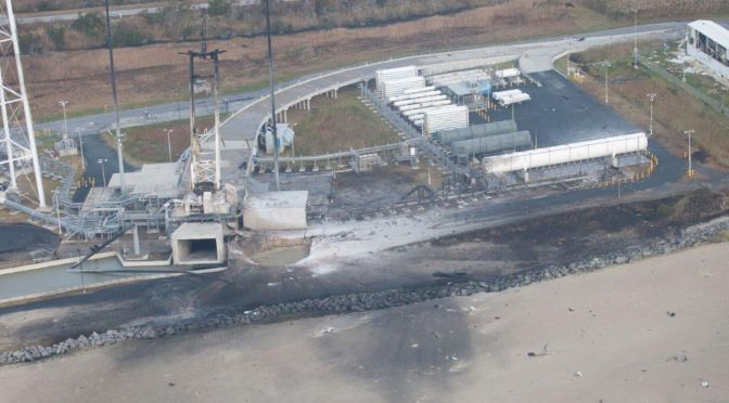 Wallops Island to receive $20 million from Federal budget to repair damaged the MARS launch pad 0A
